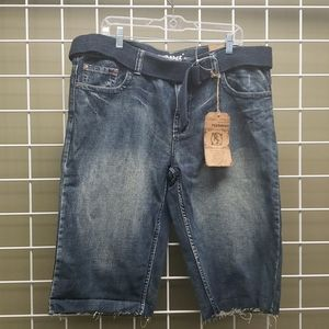 NWT Men's Flypaper denim shorts